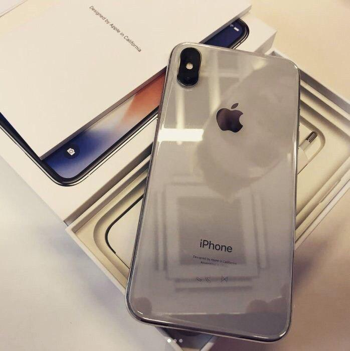 iPhone X 64GB Silver iPoster.ua