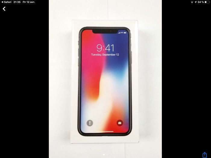iPhone X 64GB Space Gray iPoster.ua