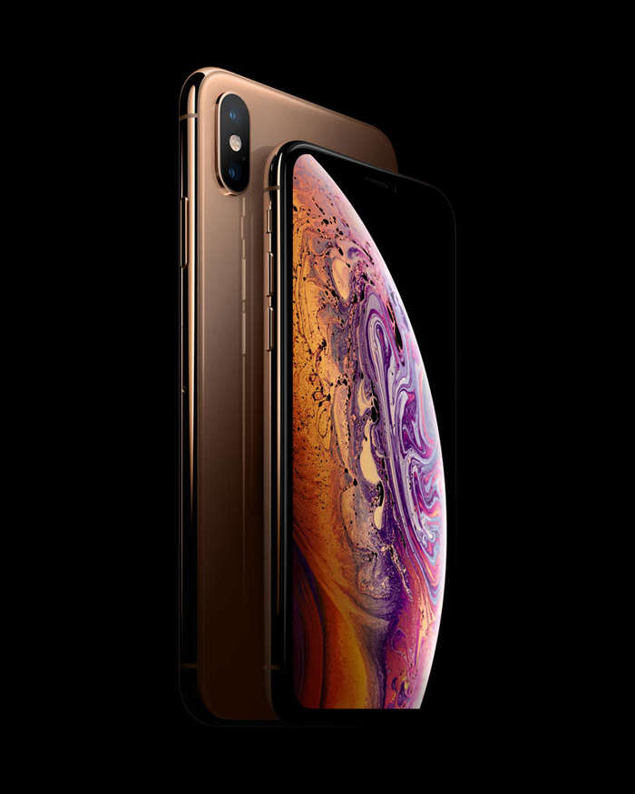 iPhone Xs Max 64 GB Gold iPoster.ua