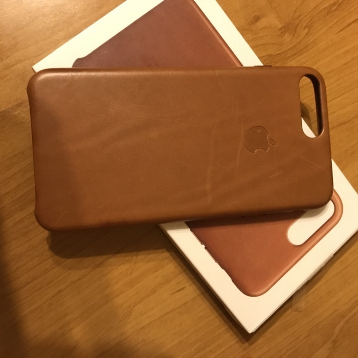 Leather case iPhone 7plus iPoster.ua
