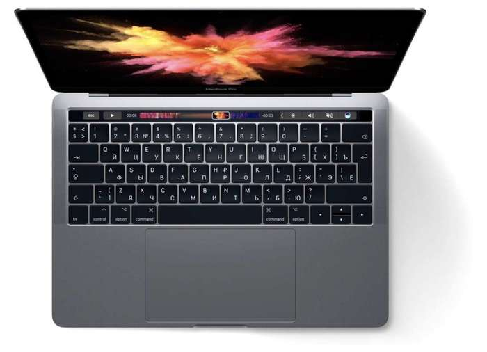 "MacBook Pro 15"" Space Gray Touch Bar 2017 БУ iPoster.ua"