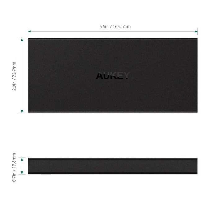 Power bank Aukey 16000 mAh c Quickcharge 3.0 PB-T9 iPoster.ua