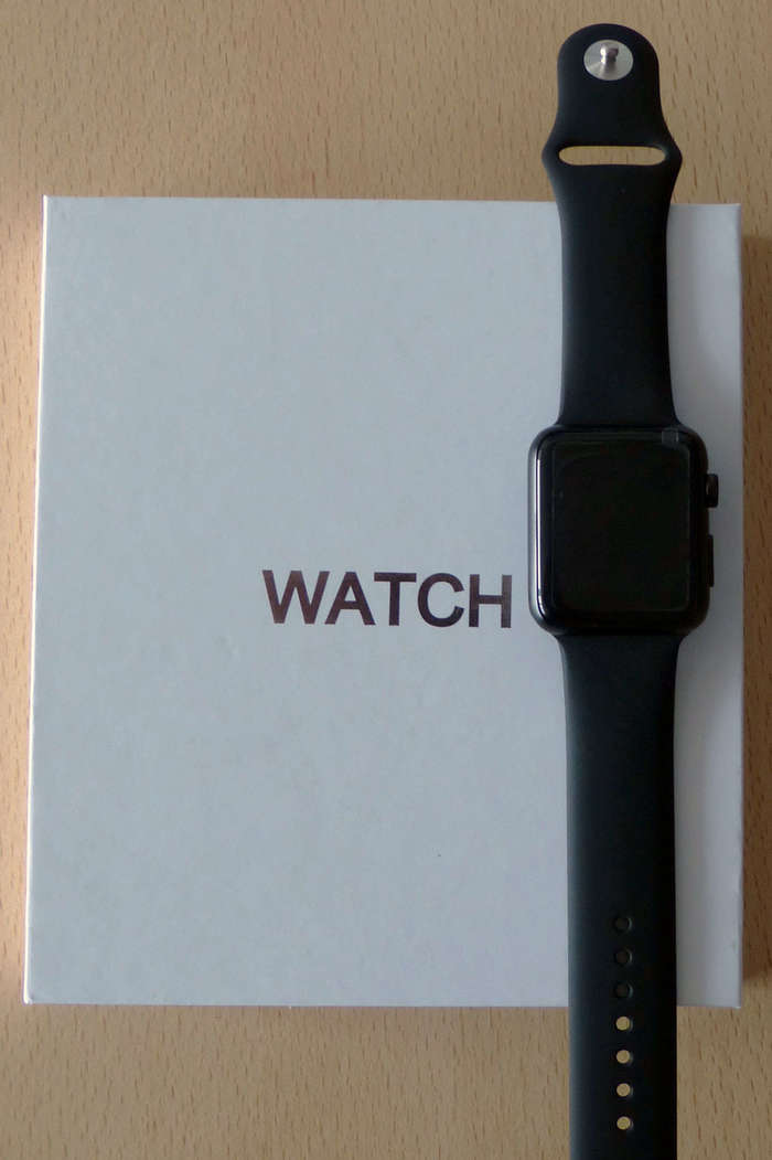 Умные часы IWO 3 Black-Matte (Apple Watch), Smart Watch iPoster.ua